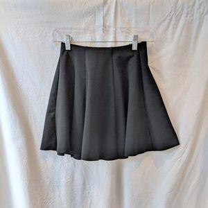 Zara Black Flare Mini Skirt Small